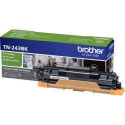 Brother TN243BK Standard Black Toner Cartridge (1,000 Pages*)