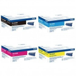 Brother TN423 CMYK High Yield Toner Multipack