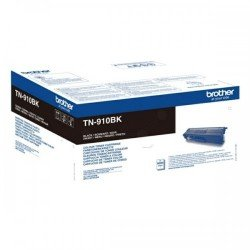 Brother TN910BK Black Toner Cartridge (9,000 Pages*)