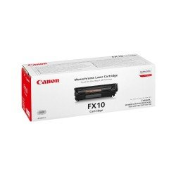Canon 0263B002AA FX-10 Black Toner Cartridge (2,000 Pages*)