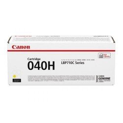 Canon 040H High Yield Yellow Toner Cartridge (