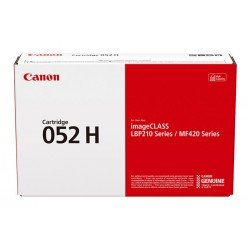 Canon High Yield 052H Black Toner Cartridge (9,200 Pages*) 2200C002AA