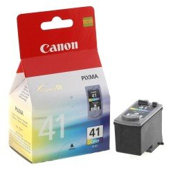 Canon CL-41 Tri-Colour Ink Cartridge (12ml - 308 pages*) 0617B001