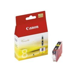 Canon CLI-8Y Yellow Ink Cartridge (13ml - 300 pages*) 0623B001