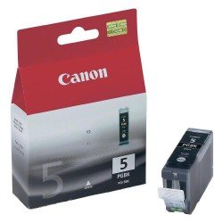 Canon PGI-5BK Black Ink Cartridge (26ml - 600 pages*) 0628B001