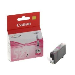 Canon CLI-521M Magenta Ink Cartridge (447 pages*) 2935B001