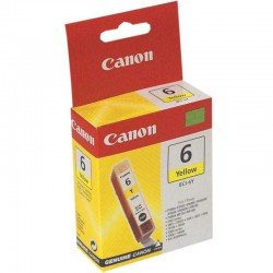Canon BCI-6Y Yellow Ink Cartridge (210 pages*) 4708A002