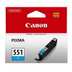 Canon CLI-551C Cyan Ink Cartridge (332 pages*) 6509B001