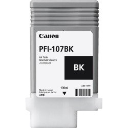 Canon 6705B001AA PFI-107BK Black Ink Tank (130ml)