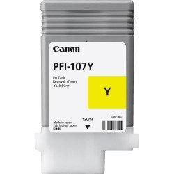 Canon 6708B001AA PFI-107Y Yellow Ink Tank (130ml)