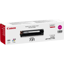 Canon 6270B002AA 731M Magenta Toner Cartridge (1,500 pages*) 6270B002