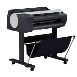 Canon imagePROGRAF iPF6400SE 24-in Colour Inkjet Printer with Roll Feed, Stand & Basket