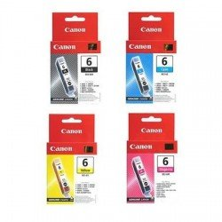 Canon BCI-6 CMY + BCI-3eBK Ink Cartridge