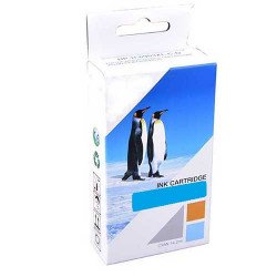 Compatible Brother LC-123C Cyan Ink Cartridge (600 pages*)
