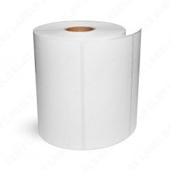 "Compatible Brother DK11218 1"" Round Paper Labels (1,000 Labels)"