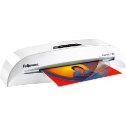 Fellowes Cosmic 2 A4 Laminator in use