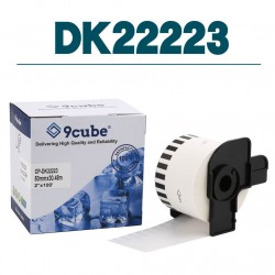 Compatible Brother DK22223 50mm Continuous Paper Label Roll