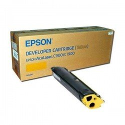 Epson C13S050097 Yellow Toner Cartridge (4,500 pages*)