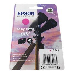 Epson 502 Standard Magenta Ink Cartridge (165 Pages*)