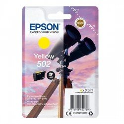 Epson 502 Standard Yellow Ink Cartridge (165 Pages*) C13T02V44010