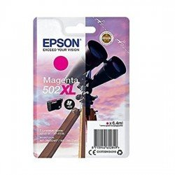 epson 502XL High Yield Magenta Ink Cartridge (470 Pages*)
