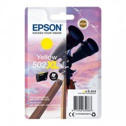 Epson 502XL High Yield Yellow Ink Cartridge (470 Pages*) C13T02W44010