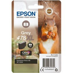 Epson 478XL Grey Ink Cartridge (200 Pages*) C13T04F64010