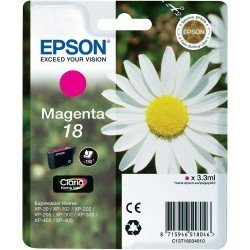 Epson 18 Standard Yield Magenta Ink Cartridge (3.3ml) C13T18034010