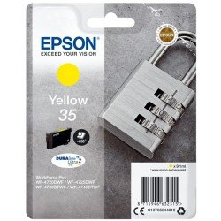 Epson Yellow 35 Ink Cartridge (650 pages*)