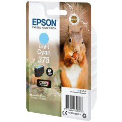Epson C13T37854010 378 Claria Photo HD Ink Light Cyan (360 Pages)