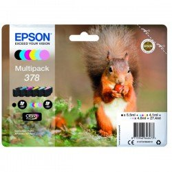 Epson C13T37884010 378 Claria Photo HD Ink Multipack