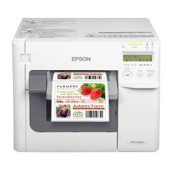 Epson TM-C3500 Colour Label Printer front view