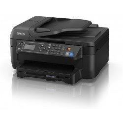 Epson Workforce WF-2750DWF A4 Colour Multifunction Inkjet Printer Left View