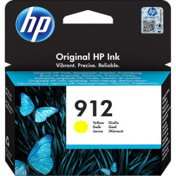 HP 912 Standard Yellow Ink Cartridge (315 Pages*) 3YL79AE