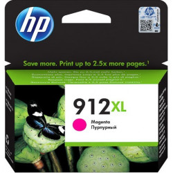 HP 912XL High Yield Magenta Ink Cartridge (825 Pages*) 3YL82AE