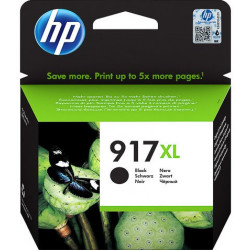 HP 917XL Extra High Yield Black Ink Cartridge (1,500 Pages*) 3YL85AE