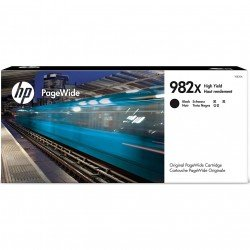 HP 982X High Yield Black Ink Cartridge (20,000 Pages*)