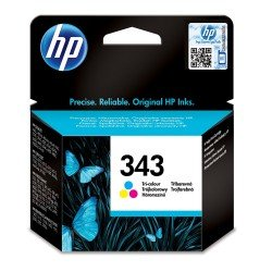 HP C8766EE No.343 Tri-Colour Ink Cartridge (7ml)