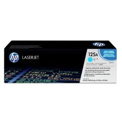 HP CB541A 125A Cyan Toner Cartridge (1,400 pages*)