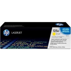 HP CB542A 125A Yellow Toner Cartridge (1,400 pages*)