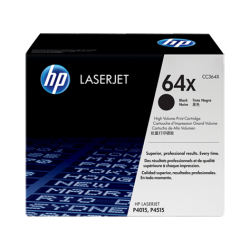 HP CC364X Black Toner Cartridge (24,000 pages*)