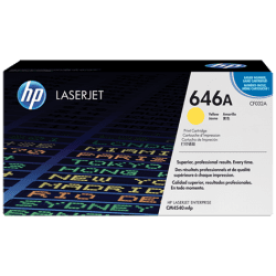 HP CF032A Yellow Toner Cartridge (12,500 pages*)