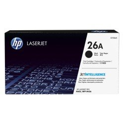 HP CF226A 26A Black Toner Cartridge (3,100 pages*)