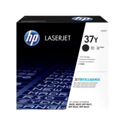 HP 37Y Black Extra High Yield Toner Cartridge (41,000 Pages)