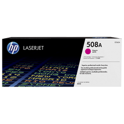 HP CF363A 508A Magenta Toner Cartridge (5,000 Pages*)