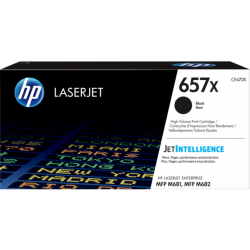 HP 657X Black High Yield Toner Cartridge (28,000 Pages)