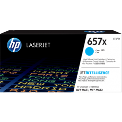 HP 657X Cyan High Yield Toner Cartridge (23,000 Pages) CF471X