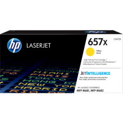 HP 657X Yellow High Yield Toner Cartridge (23,000 Pages)