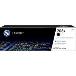 HP 203X Black Toner Cartridge (3,200 Pages*) CF540X