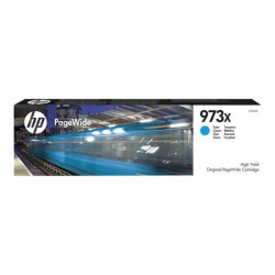 HP F6T81AE 973X High Yield Cyan Ink Cartridge (7,000 Pages)